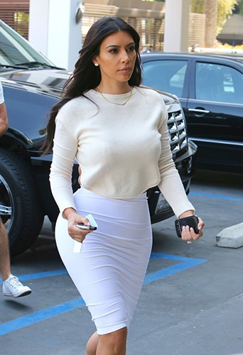 Kim Kardashian à Los Angeles le 23 juin 2014