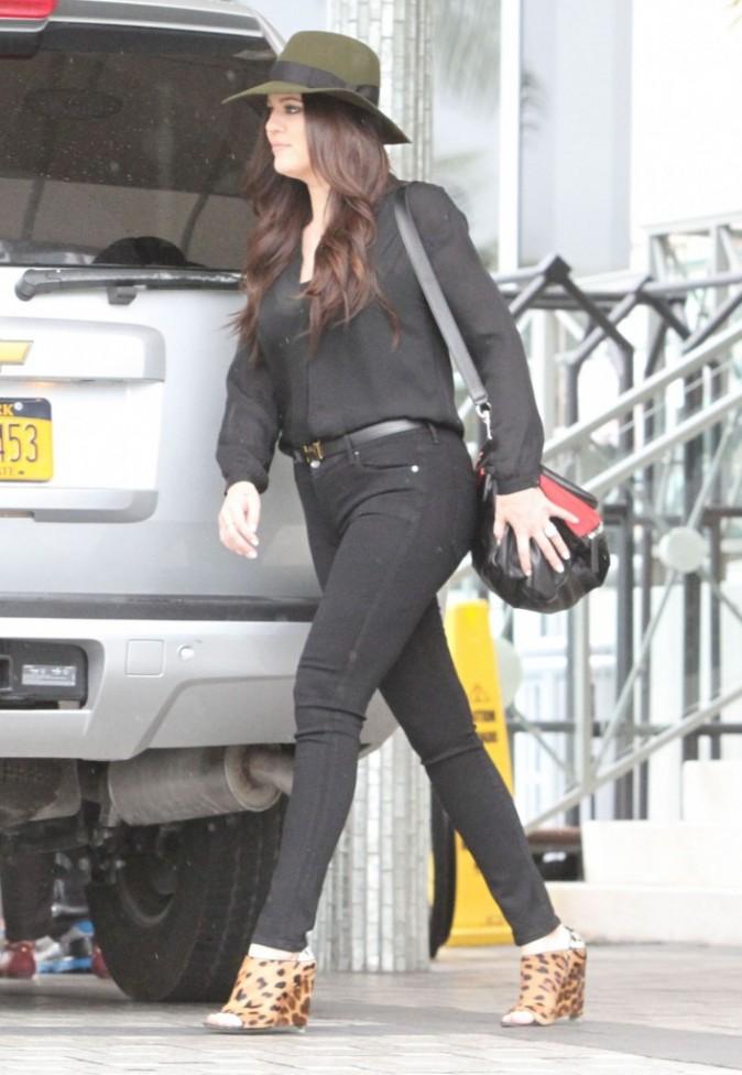 Khloe Kardashian à Miami,  le 16 septembre 2012.