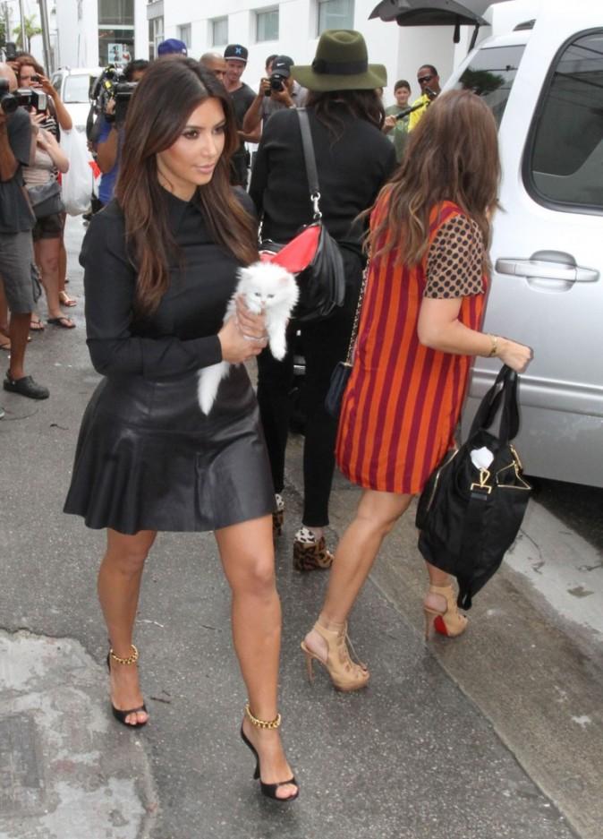 Kim Kardashian à Miami,  le 16 septembre 2012.