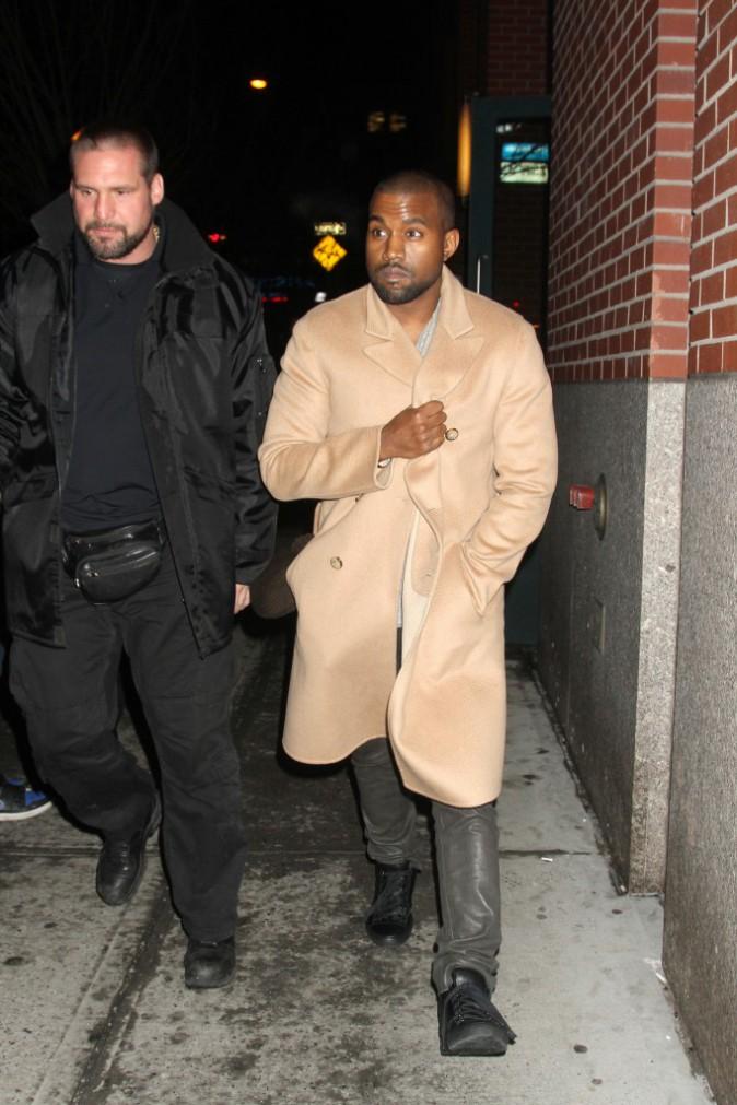 Kanye West à New York, le 16 février 2014.
