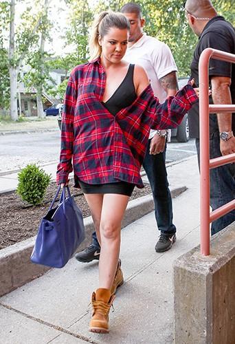 Khloé Kardashian à Southampton le 30 juin 2014
