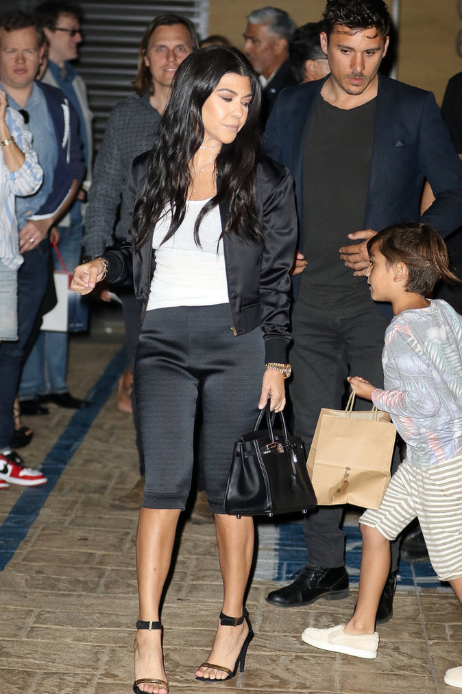 Kourtney Kardashian en bombe pour Scott