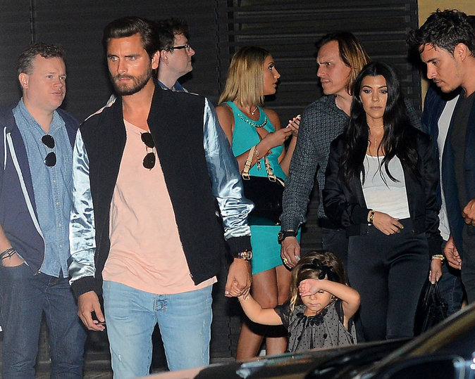 Scott Disick et Kourtney Kardashian