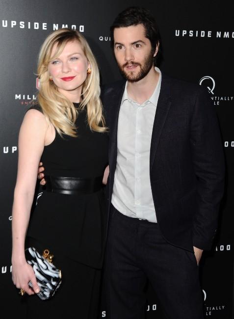 Kirsten et son partenaire dans le film