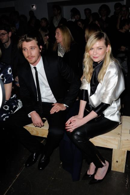 Kirsten Dunst et Garrett Hedlund le 4 mars 2013 à Paris