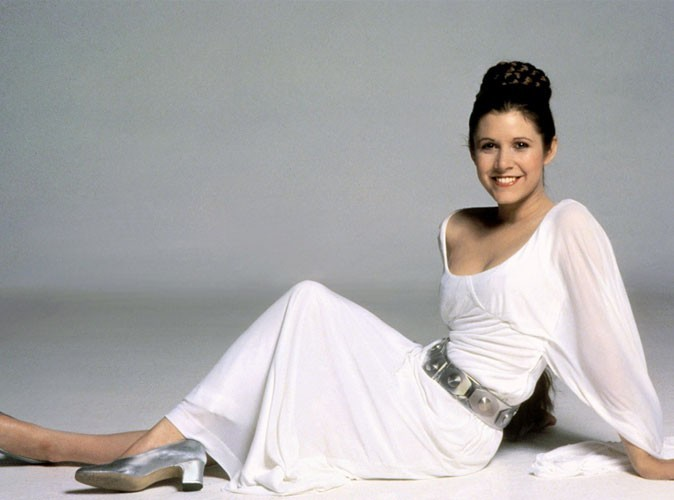 Photos : Carrie Fisher dans Star Wars