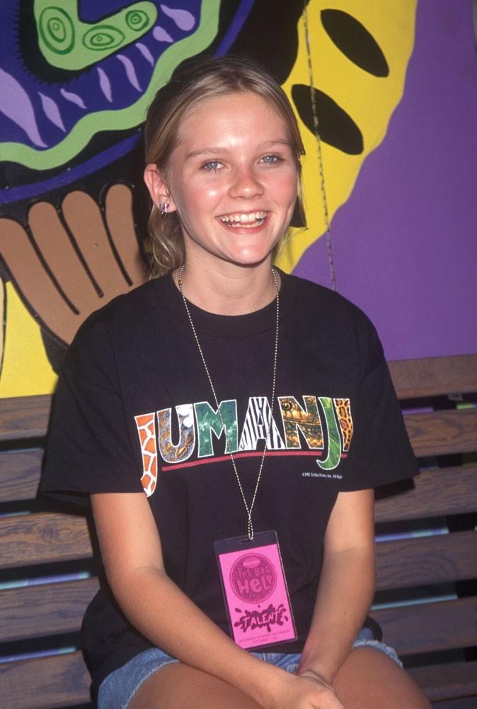 Photos : Kirsten Dunst en 1995