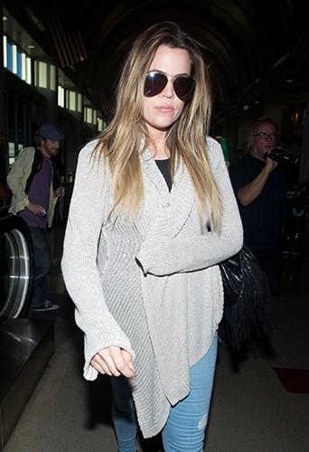 Khloé Kardashian à Los Angeles le 18 mai 2014