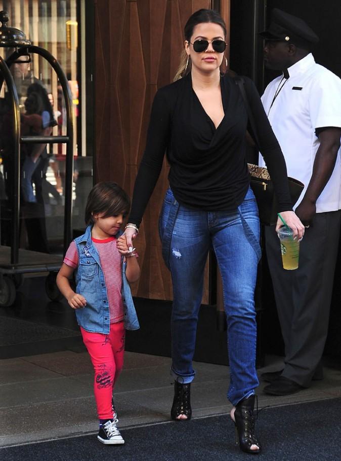 Khloé Kardashian à New-York le 2 juin 2014