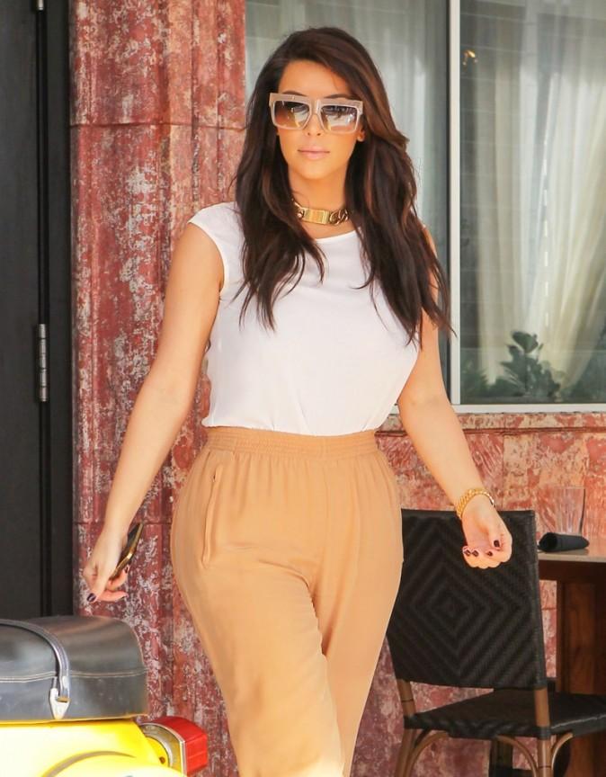 Kim Kardashian à Miami, le 10 décembre 2012.