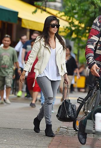 Kourtney Kardashian à New York le 31 mai 2014