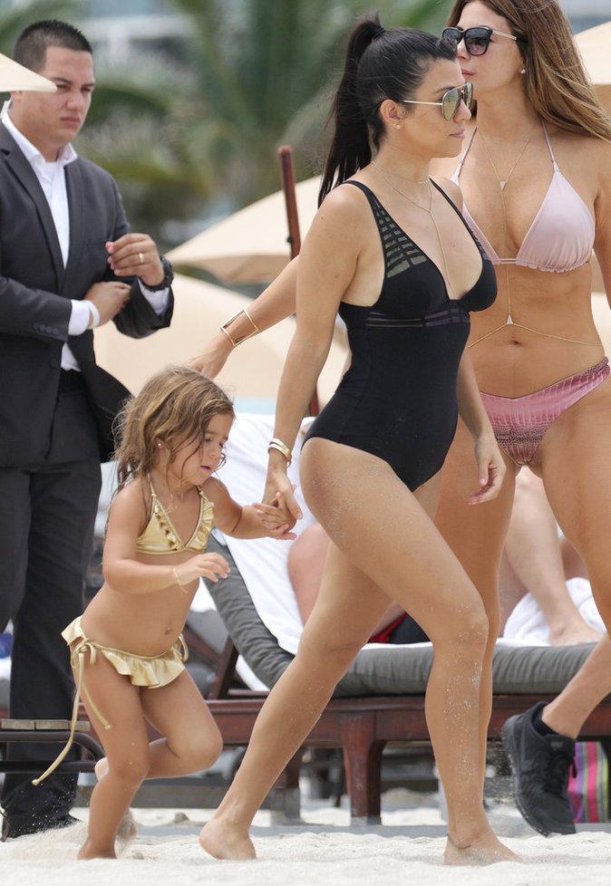 Kourtney Kardashian à Miami, le 2 juillet 2016