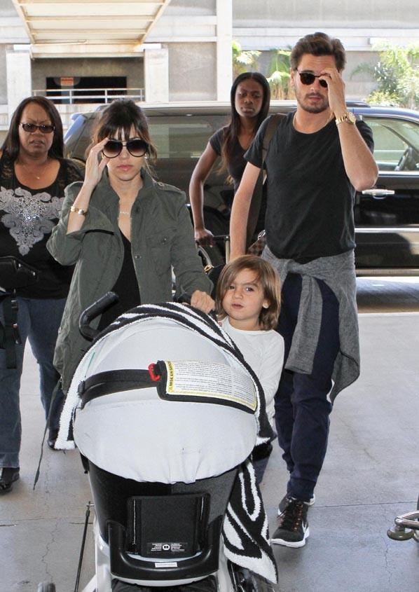 Kourtney Kardashian et sa tribu quittent la Californie !