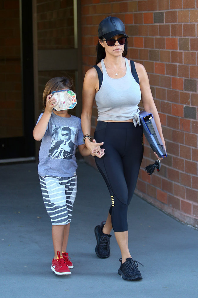 Photos : Kourtney Kardashian dans la tourmente, Mason chez le psy !