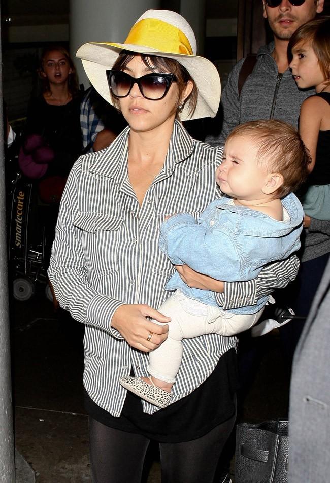 Kourtney Kardashian le 2 mai 2013 à Los Angeles