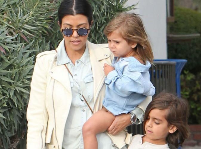 Kourtney Kardashian : dévouée à ses enfants, elle dévoile une nouvelle photo de son petit dernier à croquer !