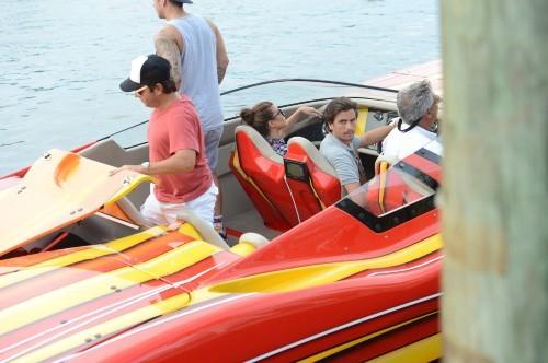 Kourtney Kardashian et Scott Disick, Miami, 5 octobre 2012.