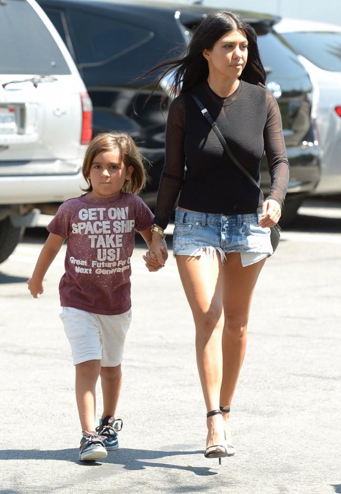 Kourtney Kardashian : Elle envoie son fils de 5 ans en thérapie !