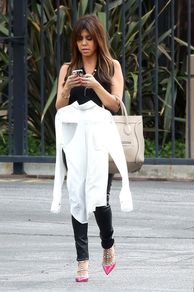 Kourtney Kardashian à Los Angeles le 7 mars 2013