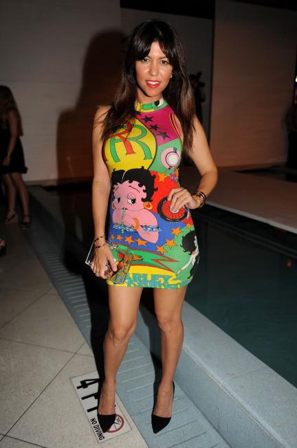Kourtney Kardashian à Miami, le 21 juillet 2013.