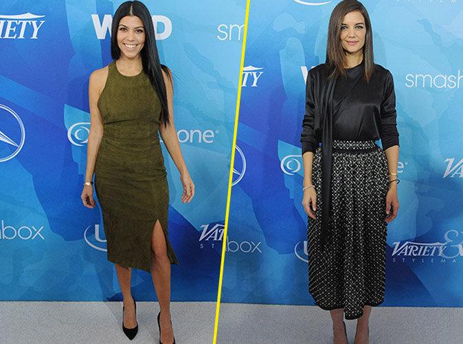 Kourtney Kardashian et Katie Holmes le 19 novembre 2015