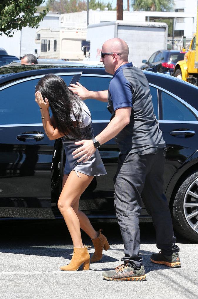 Kourtney Kardashian à Los Angeles le 25 juillet 2016