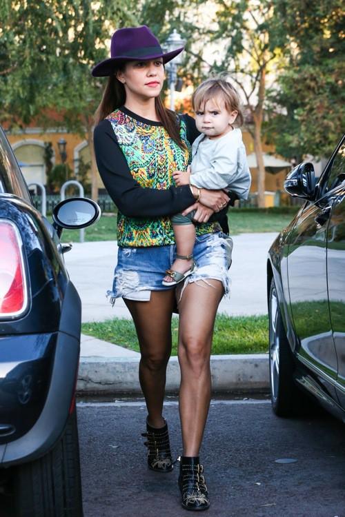 Photos : Kourtney Kardashian et la concordance des couleurs? ça fait deux !