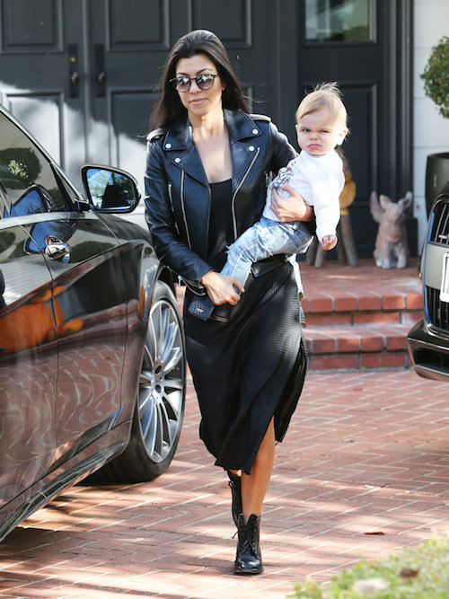 Photos : Kourtney Kardashian de sortie avec Reign Aston : on fond !