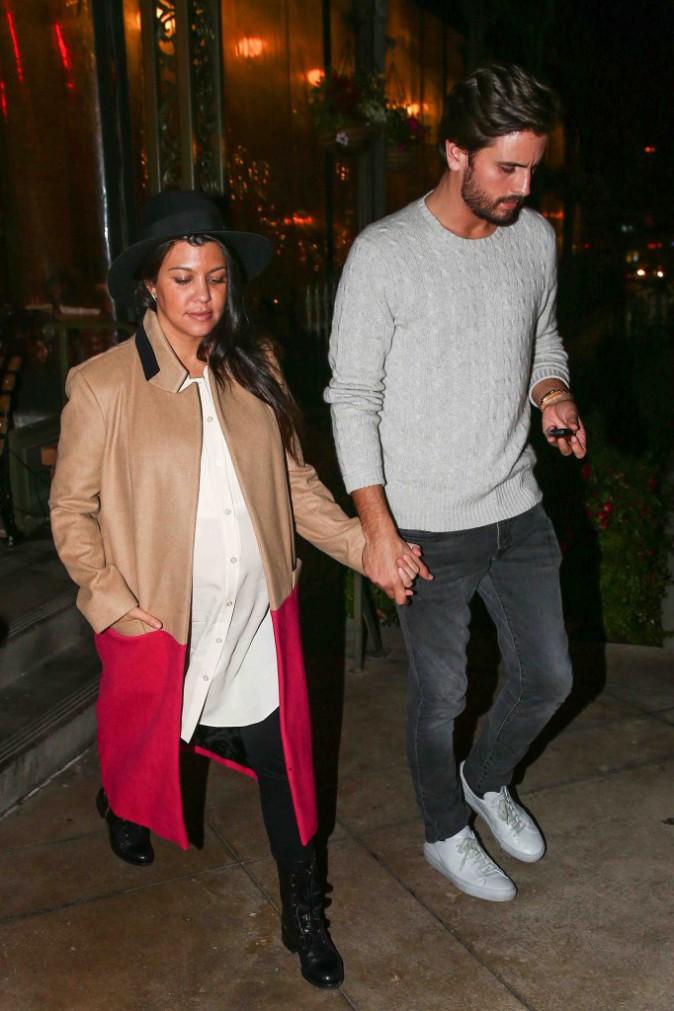 Kourtney Kardashian et Scott Disick : couple soudé prêt à accueillir bébé !