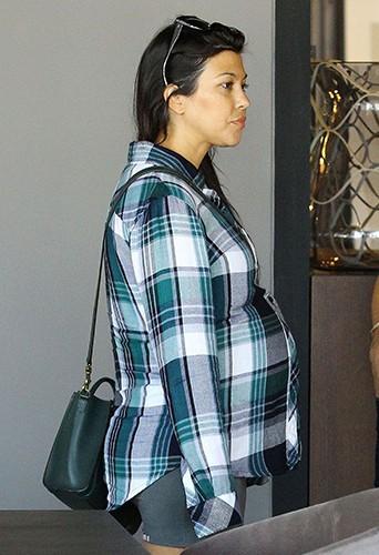 Kourtney Kardashian à Los Angeles le 26 septembre 2014