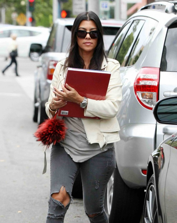 Kourtney Kardashian : Femme de goût, elle s'intéresse à l'art !