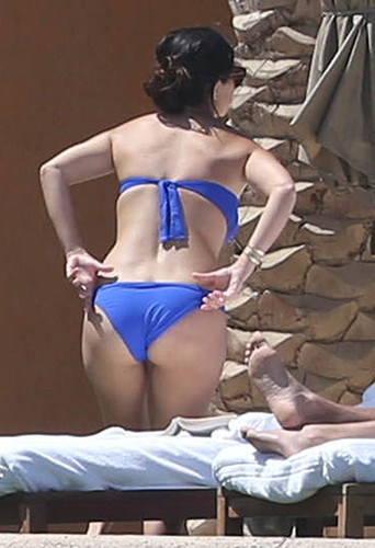 Kourtney Kardashian à Los Cabos le 19 avril 2014