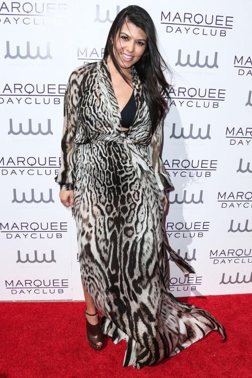Kourtney Kardashian à Las Vegas le 21 mars 2015