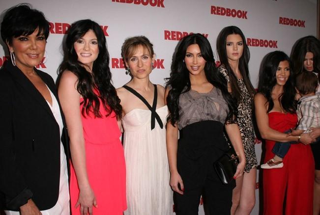 Toute la famille Jenner/Kardashian rénuie !