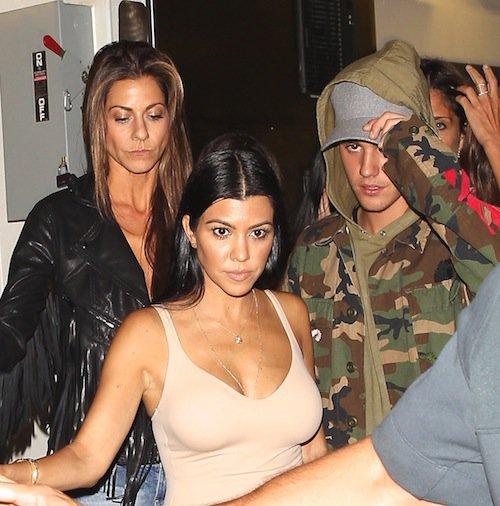 Photos : Kourtney Kardashian : maman poule avec Penelope, MILF sexy pour Justin Bieber !