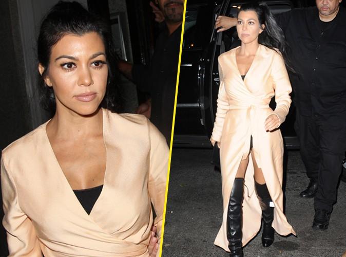 Photos : Kourtney Kardashian : maman super sexy, elle n'a rien à cacher !