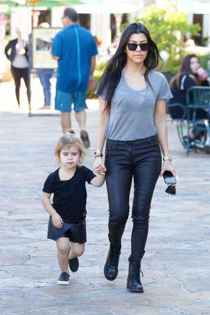 Kourtney Kardashian et Penelope