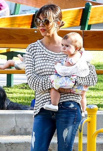 Kourtney Kardashian et toute sa tribu à Malibu le 6 avril 2013