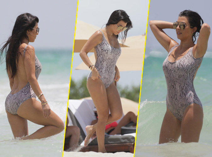 Photos : Kourtney Kardashian : Reine des Milf sur la plage de Malibu !
