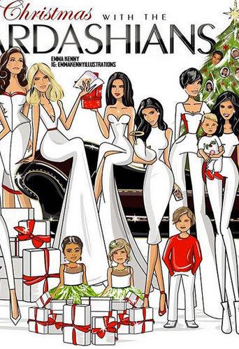 Photos : Kourtney Kardashian : sa carte de vœux avec Saint, Caitlyn Jenner et un mini Scott Disick !