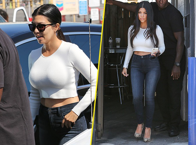 Kourtney Kardashian le 3 juillet 2015