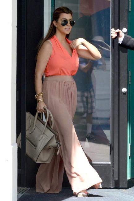Kourtney Kardashian à Miami, le 22 octobre 2012.