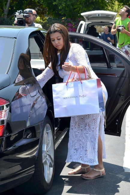 Kourtney Kardashian à Los Angeles, le 19 juin 2012.