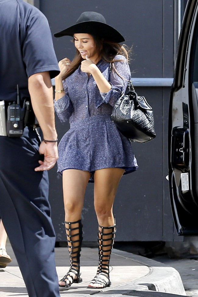 Kourtney Kardashian à Los Angeles le 15 septembre 2013