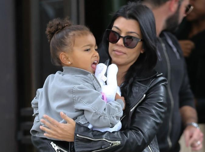 Kourtney Kardashian : super tata, elle assure pour s'occuper de North !