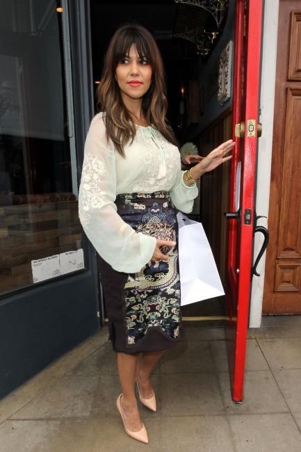 Kourtney Kardashian à Los Angeles, le 11 juin 2013.