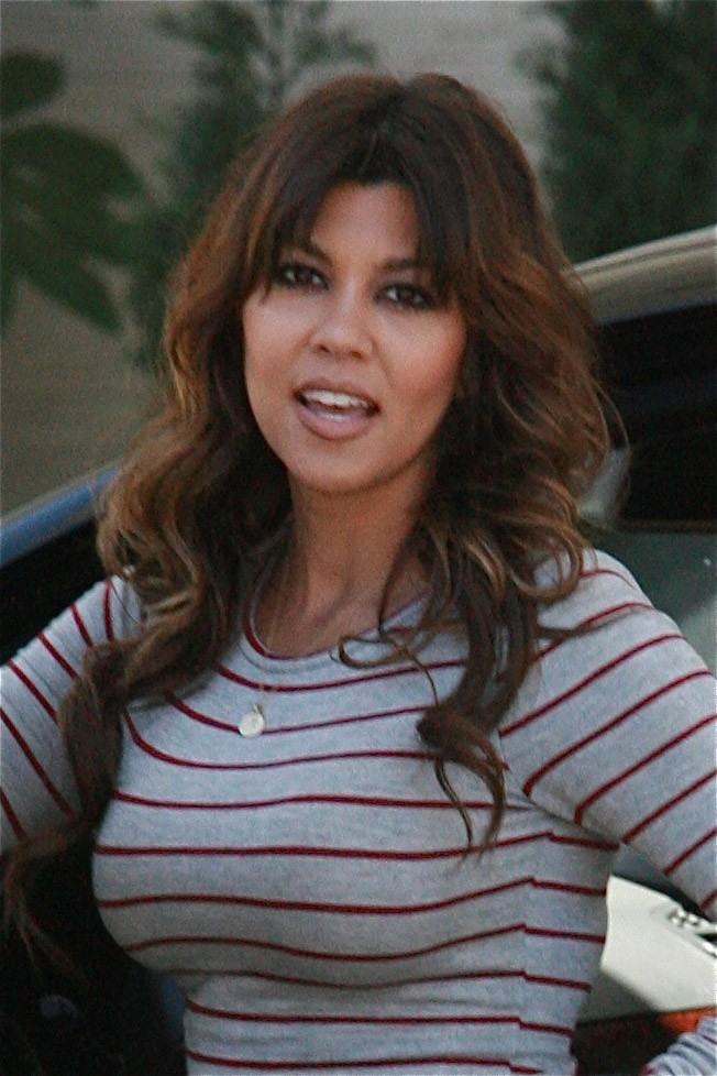 Kourtney Kardashian à Los Angeles le 20 juin 2013