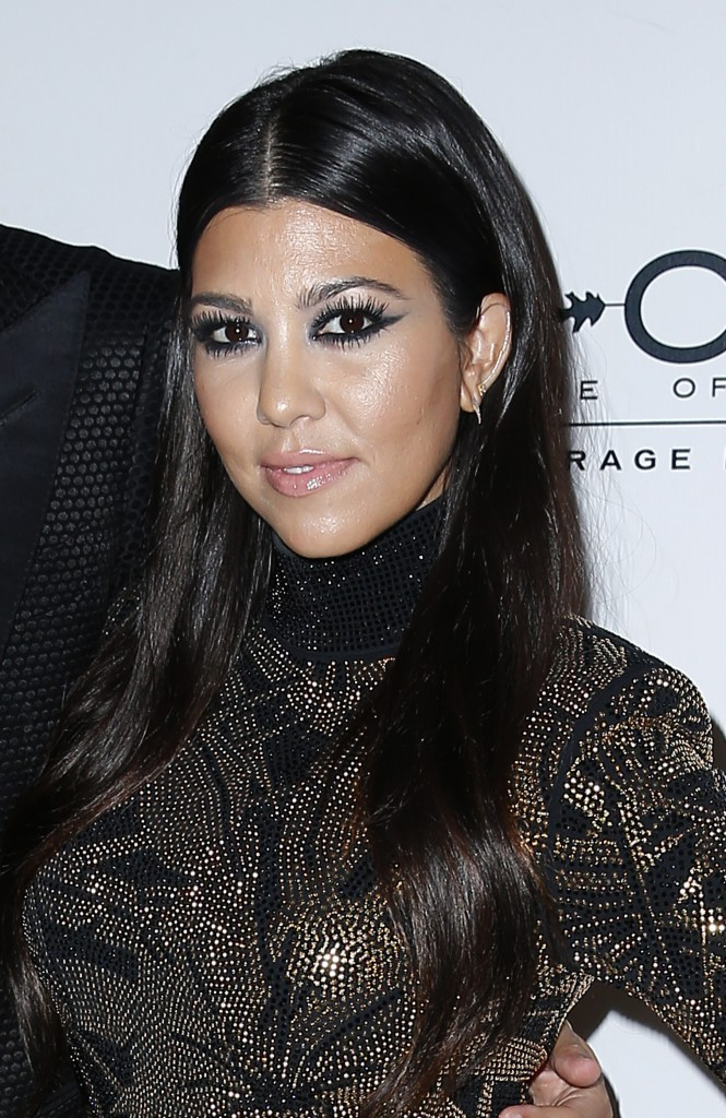 Kourtney Kardashian et Scott Disick le 23 mai 2015