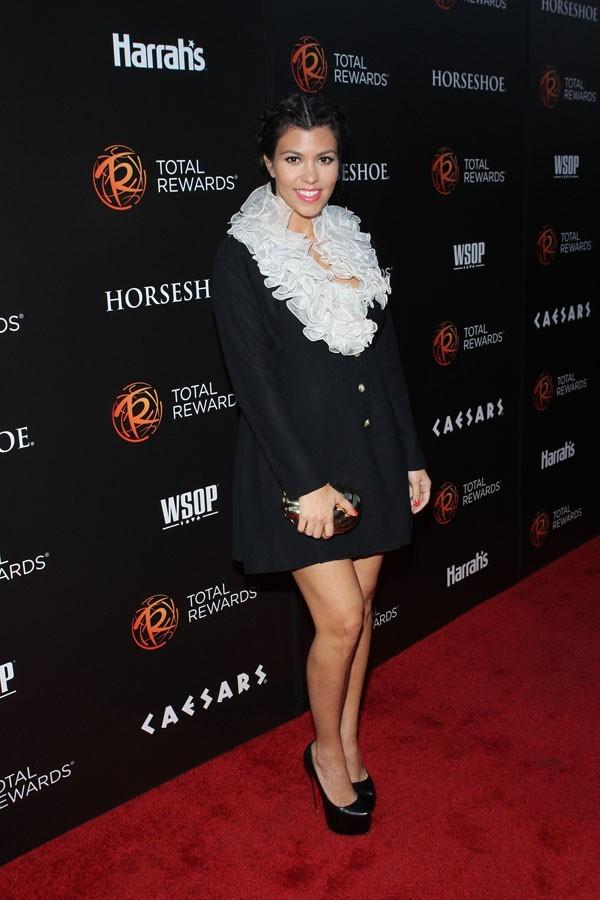 Kourtney Kardashian à la soirée Escape to Total Rewards hier !