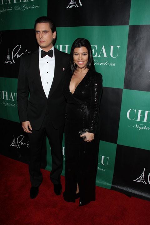 Scott Disick et Kourtney Kardashian à Las Vegas samedi soir !